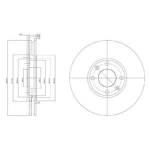 Ön Fren Aynası Havalı C2-c3-c4-c4-c5-xsara Ii-xsara Picasso-partner Ii-p206-p207-p307-partner Tepe-b DELPHI BG3622 DELPHI