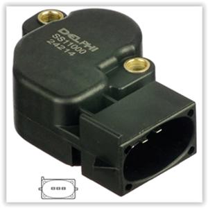 Gaz Kelebeği Pozisyon Sensörü Potansıyometre Escort 1,6 16v  1,8 16v 95>99 Mondeo I 1,8 16v 93>96 DELPHI SS11000-12B1 DELPHI