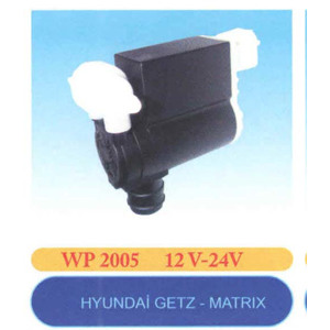 Cam Su Fiskiye Motoru Getz Matrix Cift Cikis 12v EMA WP 2005 EMA