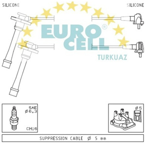 Buji Kablosu Corolla 1,6i 16v Ae101- Carına E At190 93-97-terra Ae111 EUROCELL BK 003