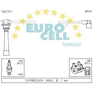 Buji Kablosu Accent 1,5 16v-era 1,6 16v - Elantra 1,6 - Admıra 1,6i EUROCELL BK 021