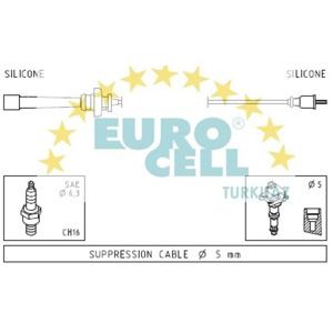 Buji Kablosu Carısma 1,6 00-06 - Carısma 1,8 95-06 EUROCELL BK 025