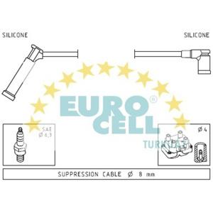 Buji Kablosu Focus 1,4i 16v 98 EUROCELL BK 080