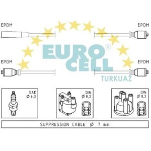 Buji+bobin Kablosu M131 Dks 1,6 8v EUROCELL BK 082