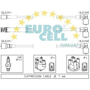 Buji Kablosu Vectra A 1,4/1,6 8v 88-92 EUROCELL BK 127