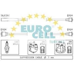 Buji Kablosu Suzukı Rot Milio 1,0 3 Silindir EUROCELL BK 136