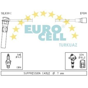 Buji Kablosu Rover 25 - 45 2000-2004 EUROCELL BK 187