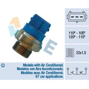 Klima Fan Müşürü Mavi Vectra-b FAE 38330 FAE