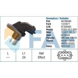 Krank Mili Sensörü Doblo 1,6 16v/palio-panda-punto 1,2 - Accord 2,2 04--> FAE 79206 FAE