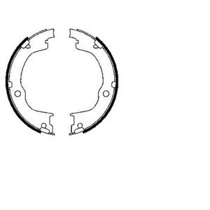 Arka Fren Balatası Papuç Antara, Chevrölet Captiva FERODO FSB4006 FERODO