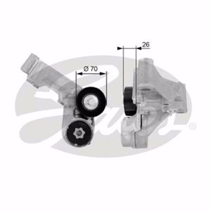 Ford Transit Connect 1.8 Di 2002-2013 Gates Alternatör Gergi Rulmanı UP1134463 GATES