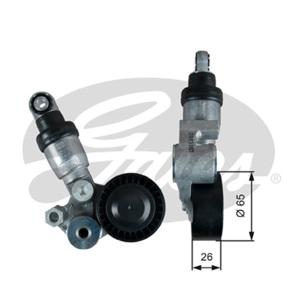 Alternatör Gergi Rulmanı Mazda 3 1.5-2.0 13- Cx3-cx5 2.0-2.0 Awd 11- GATES T39390 GATES