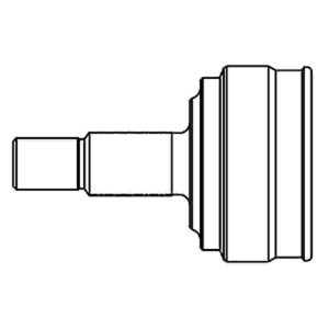 Aks Kafası Dıs Cıvıc 16v 92-95 GSP 823022 GSP