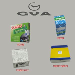 Filtre Seti Clio Iı 98-05)-kng 97> Mgn 96> Logan 04> Sandero 08> Solenza 03> 1.4-1.6 K7j Bcs-04) GVA 8514155 GVA