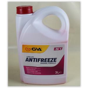 Antifiriz 3 Lt -56 C Kırmızı Long Life Koli 6 Ad) GVA 9930133 GVA