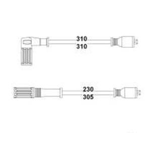 Buji Kablosu Dkş Slx 1.4-1.6 Enj. 8v HELLUX HBK.3164 HELLUX