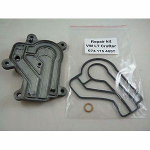 Yağ Filtre Kütüğünun Labırent Contalı Metal Kapagı Crafter 06> Lt35 04> ITHAL 074115405T