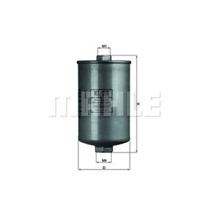 Yakıt Filtresi Golf 2 1,8 Gti - Passat 88-97 MAHLE KL28 MAHLE