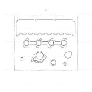 Motor Takım Contası Clio 3-megane Iı-3-fluence-kangoo-logan 1,5dcı K9k MAIS 7701477501