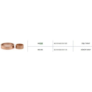 Marş Burcu Takım Bosch Tıpı Alfkb Man Volvo Daf ( Bronz ) ( 049 050 ) METIN 049-050
