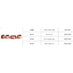 Marş Burcu Takım Bosch Tıpı Transit V184 Connect Fıesta Focus ( 087 081 088 089 ) METIN 087-081-088-089