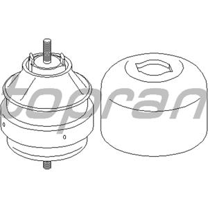 Motor Kulağı Sağ Yağlı Passat Iv-a4-a6 1.6-1.8-1.9 Tdi Afn-avg-alz) TOPRAN 104425755 TOPRAN