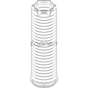 Amortisör Körüğü Vw T5-multıvan V 1.9-2.0tdi-2.5tdi 03-09)- 2011> TOPRAN 112903546 TOPRAN