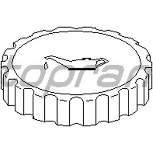 Motor Yağ Kapağı Astra F-g-combo-corsa A-b-vectra A-b X TOPRAN 201299015 TOPRAN