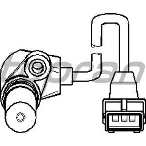 Krank Mil Sensörü Astra F-kadett-omega A-vectra A 1.8-2.0 16v TOPRAN 205887755 TOPRAN