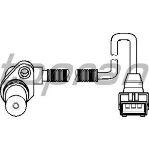 Krank Mil Sensörü Astra F 93-98 -vectra B 1.8i-2.0i 16v 95-02 Orj.germany) TOPRAN 205893015 TOPRAN