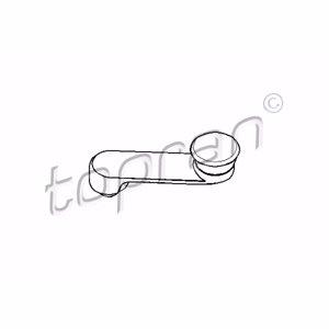 Cam Kaldırma Rot Mili Siyah Astra G-vectra B-zafıra TOPRAN 206049755 TOPRAN