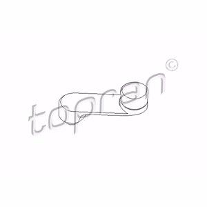 Cam Açma Rot Mili Siyah Corsa B-combo-b-tıgra TOPRAN 206331755 TOPRAN