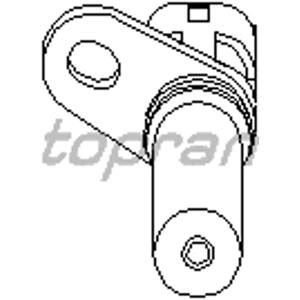 Krank Sensörü Astra G-astra H-combo-corsa C-merıva-vectra B-vectra C-zafıra 1.4-1.6 16v TOPRAN 206904755 TOPRAN