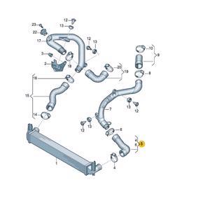 Turbo Hortumu A1,fabıa,rapıt,rooms,,ıbıza,polo 1,6d UCPA 23H142577 UCPA