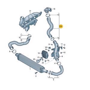 Turbo Hortumu A4,a5 18t-2,0t UCPA 23H142579 UCPA