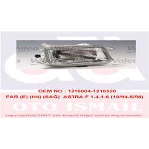 Far Sağ Elektrikli H4 Astra F 1.4-1.6 10 94-5 98 VALEO 085659 VALEO
