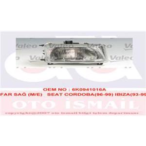 Far Sağ H4 Cordoba-ıbıza 96>99 VALEO 086654 VALEO