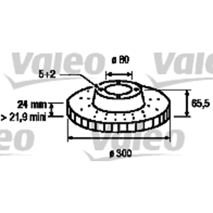 Ön Fren Aynası Ad Ducato-boxer-jumper Iı 06-> 3,0hdi VALEO 197131 VALEO