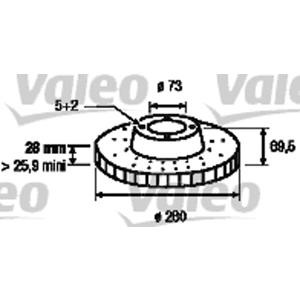 Ön Fren Aynası Ad Ducato-boxer-jumper 2,2hdi 3,0 Hdi 06-> VALEO 197248 VALEO