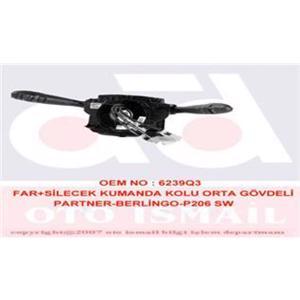 Far Sinyal Kolu P206 Partner-berlingo Tek Kapı VALEO 251497 VALEO