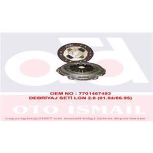 Debriyaj Seti Laguna 1,8-2,0 93-01 VALEO 801577 VALEO