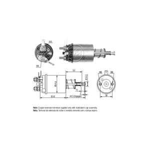 Marş Otomatiği 12v M F Saplamalı (cbsl804) (tot 162) ZM 0612