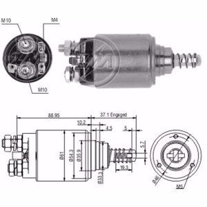 Marş Otomatiği 24v Fıat / Iveco 1983-1991 ZM 0647