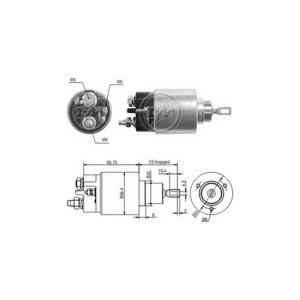 Marş Otomatiği 12v C3 Berlingo P106 P306 Partner Benzinlı ZM 0679