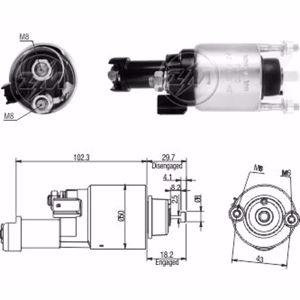 Marş Otomatiği 12v Honda Cıvıc 1.8l - 2.0 2006-2011 ZM 3705