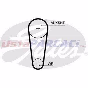Audi A1 1.0 Tfsi 2010-2018 Gates Triger Kayışı UP1451765 GATES