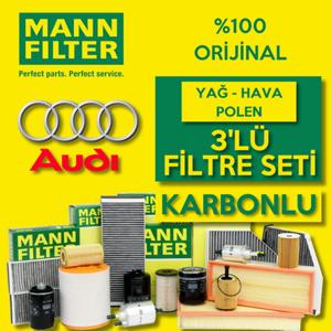 Audi A3 1.2 1.4 Tfsi Benzinli Mann Filtre Bakım Seti 2013-2018 UP1539536 MANN