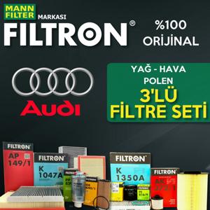 Audi A4 2.0 Tdi Filtron Filtre Bakım Seti B7 2005-2008 UP1319619 FILTRON