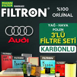 Audi A4 2.0 Tdi Filtron Filtre Bakım Seti B8 2009-2012 UP1319621 FILTRON