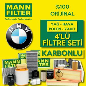 Bmw 3.20 D Mann-filter Filtre Bakım Seti (e46 2002-2005) UP468526 MANN